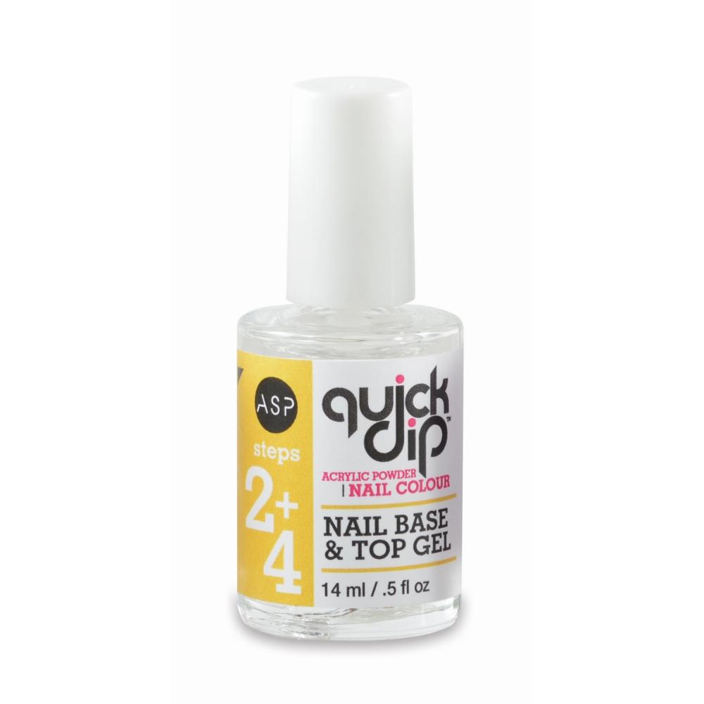 ASP Quick Dip Nail Base & Top Gel 14ml | Acrylic Nail Powder, Liquid ...