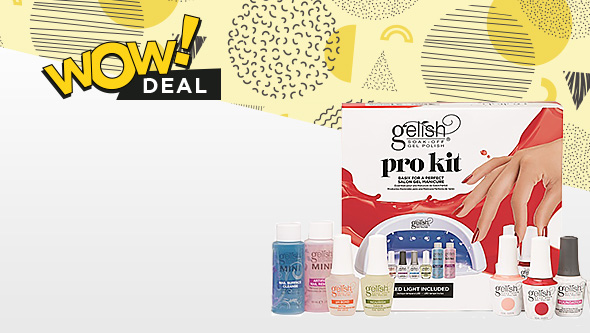 Save £50/€50 on the Gelish 5-45 Gel Polish Pro Kit