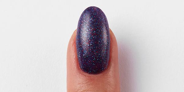 Light pink nails with Gellux Builder Gel