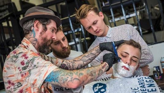 Master a cut throat razor shave