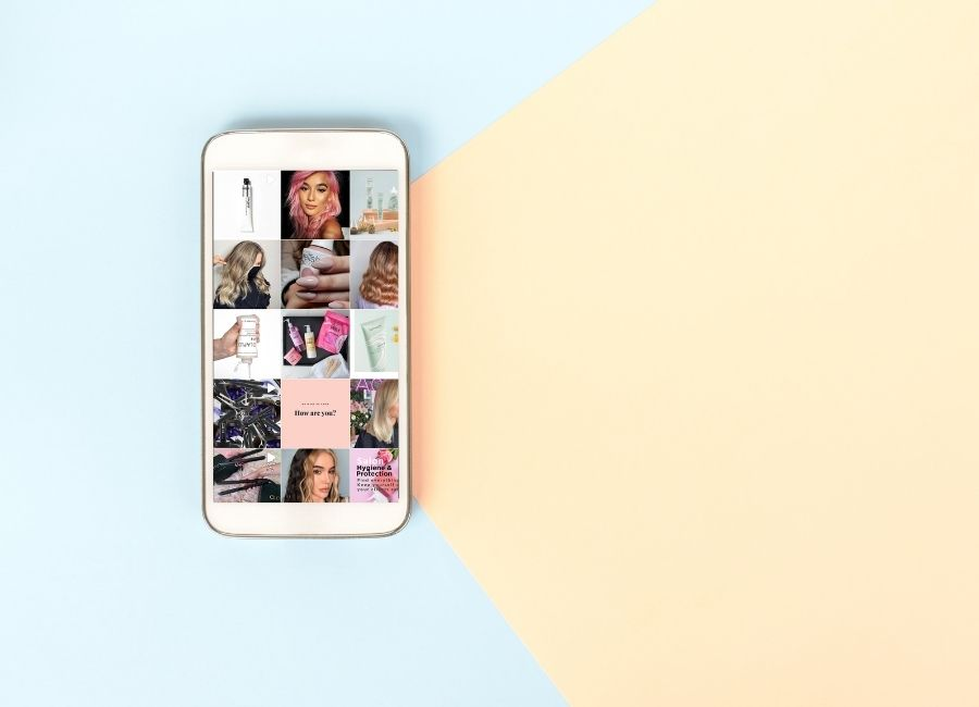How to take Instagram photos like a pro for your hair & beauty business